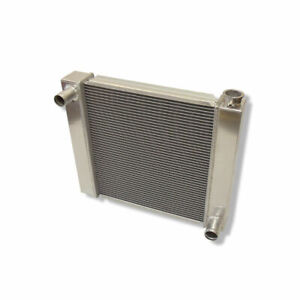 """Fabricated Aluminum Cool Radiator 22"""" x 19"""" x 2.2'' Overall For SBC BBC Chevy"""