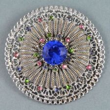 Crystal without Theme Brooch/Pin Art Deco Costume Jewellery