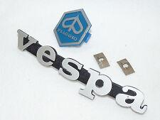 Vespa Cosa 1 - Emblem Schriftzug für Kaskade - silber matt - original Piaggio