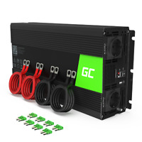 3000W/6000W Convertisseur Onduleur Transformateur de Tension 12V 220V Inverter