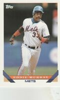 FREE SHIPPING-MINT-1993 Topps New York Mets Baseball Card #430 Eddie Murray