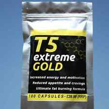100 T5 EXTREME GOLD strong diet pills SLIMMING/WEIGHT LOSS; Appetite Suppressant