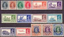 1937-38 INDIA PATIALA SG 80-94 set to 5R MH CV £350