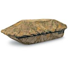 Shappell Camo Ice Fishing Jet Sled 1 w/ Sled Travel Cover Haul Gear Carrier