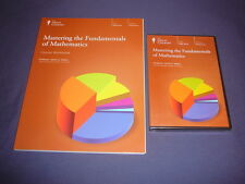 Teaching Co Great Courses DVDs  MASTERING the FUNDAMENTALS of MATHEMATICS  new