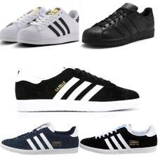 Mens Adidas Trainers Gazelle OG Superstar Triple Black Navy White RRP £80