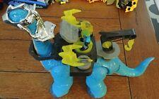 Fisher-Price Imaginext Blue Apatosaurus Dinosaur Complete + Pterodactyl