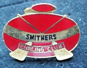 Curling Club Pin - Smithers Curling Club