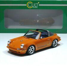 Porsche 911 Targa Spyder by Singer Baujahr 1967 orange 1:18 CULT-SCALE Models