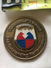 Task Force Falcon America's Arsenal for The Brave Commander's Challenge Coin A33