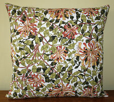 "William Morris Gallery Honeysuckle Cushion Cover 17"" - Archive Print"