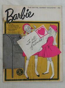 VINTAGE Mattel Barbie Magazine January-February 1966
