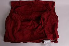 Pottery Barn Kids Red washed twill anywhere chair slip cover *regular size