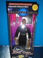 "1994 Star Trek Playmates Command Edition Benjamin Sisko 9"" Action Figure"