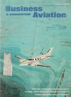 Business Commercial Aviation (Mar 1967) Light Twin to Europe, V35TC Bonanza