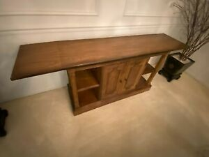 Vintage Traditional Baker Extending Console Table, Server or Buffet