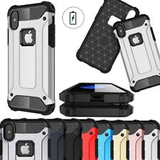 Case For iPhone 5 SE 6 7 8 Plus XR Xs Max Hybrid Rugged Armor Shockproof Cover