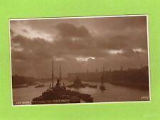 London the Thames from Tower Bridge unused RP pc Judges L53  Ref J307
