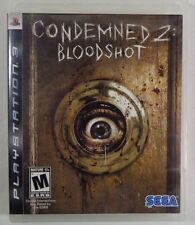 Condemned 2: Bloodshot (Sony PlayStation 3, 2008) Game/Case