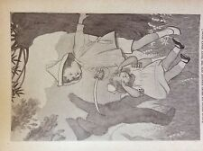 m17a1 ephemera 1920s book plate felix fights the teddy bear