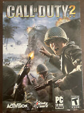 Call of Duty 2 (2005) PC CD-ROM Game by Activision All Discs Case Box No Manual