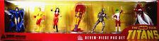 New Teen Titans Boxed PVC 7 Figure Set New 2000 DC Comics Kid Flash Wonder Girl