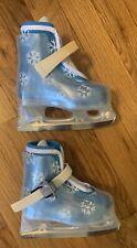 New listing Bauer Lil' Angel Ii Girls Kids Molded Ice Skates Kids snowflake 6 - New/Unused