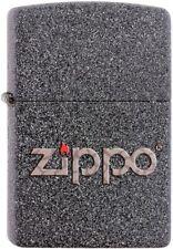 Zippo Snakeskin Logo Lighter Benzin Sturm Feuerzeug