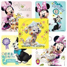 """30 Minnie Mouse Pet Salon Stickers, 2.5"""" x 2.5"""" each, Party Favors"""