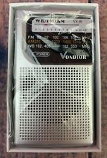 NOAA Weather Radio Emergency AM FM Battery Operated Portable Radio