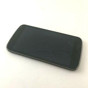 LG Nexus 4 E960 8GB Black Smartphone - FOR PARTS