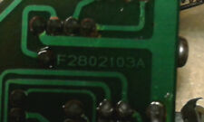 YAESU FT-767GX PARTS - METER SWITCH BOARD F2802103A GOOD WORKING CONDITION
