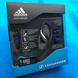 ⚡✈️ SHIPS SAME DAY  Sennheiser OCX 685i Adidas Sports In-Ear Headphones NEW