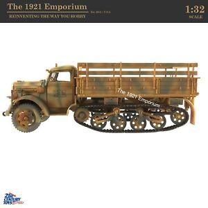 1:32 Diecast 21st Century Toys Ultimate Soldier WWII German Opel Halftrack Truck