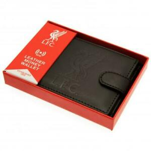 Liverpool Leather rfid Anti Fraud Wallet (Official Club Merchandise)