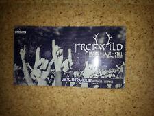 Freiwild   Frei Wild   Frankfurt Festhalle    Sammler - Ticket 2013 laminiert