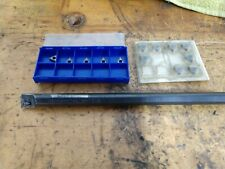 Kennametal B 1504 Boring Bar With 13 New Inserts