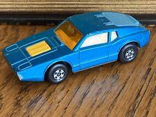 Vintage Matchbox Superfast Car No. 65 Saab Sonett III 1973