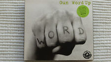 GUN Word Up (Very Rare/Near Mint) UK 1993 PROMO Stickered Digi Gatefold CD