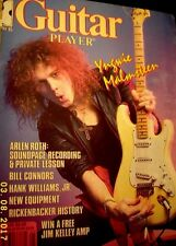 Guitar player magazine Ingwey Malmsteen issue w/special interview poster sheet