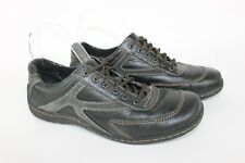 Born Concept BOC Comfort Oxford Lace Up Womens Shoes Sz 7.5 Black Leather