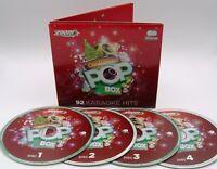 Zoom Karaoke Christmas Pop Box - 4 CD+G Set - 92 Christmas Karaoke Hits!
