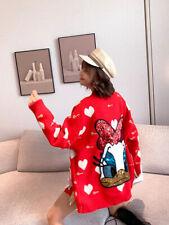 sweater Mori girl fashion Western style Sequins knitting Cardigan Loose coat