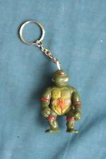 TMNT teenage mutant ninja turtle action figure Key Chain Toy bootleg 1990's  #5