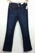 Old Navy Girls 16 Denim Jeans Adjustable Waist Boot Cut Stretch Mid Rise A5-7