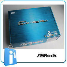 Placa base mATX G41 ASRock G41M-VS3 R2.0 Socket 775 ddr3 con Accesorios