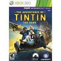 The Adventures Of Tintin: The Game For Xbox 360 Game Only 2E