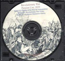 1820 Revolutionary War Pension List + Bonus