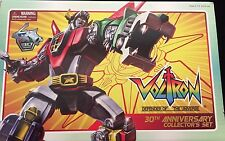 VOLTRON DEFENDER OF THE UNIVERSE 30TH ANNIVERSARY COLLECTOR'S SET MINT