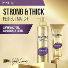 SET 2 PANTENE Gold Series Strong & Thick Shampoo @270ml and Conditioner @190ml